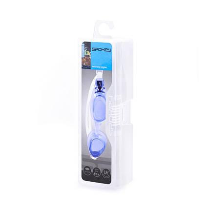 Очки для плавания Spokey DIVER CLEAR 839206 (original) для взрослых, регулируемые, силиконовые, фото 2