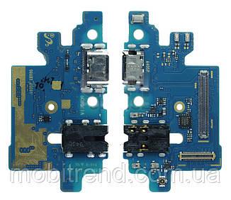 Разъем зарядки для Samsung Galaxy A40 SM-A405 complete with flat and headset Оригинал