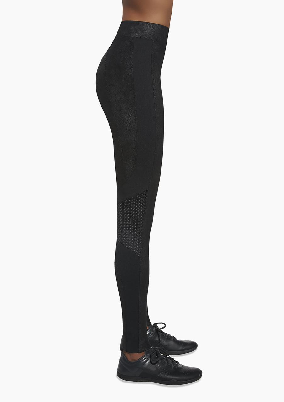Спортивные женские легинсы BasBlack Flint black (original), лосины для бега, фитнеса, спортзала