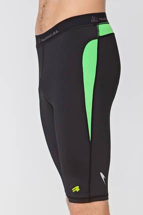 Спортивные мужские шорты-тайтсы Rough Radical Rapid (original), компрессионные шорты для бега, спортзала, фото 2