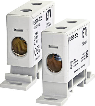 Блок распределительный EDBS-50B 150А, 16-70 mm2 ETI, фото 2