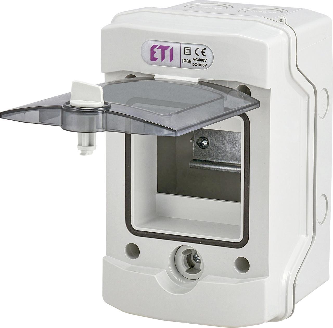 Пластиковый щит ECH 4G 4 модуля внешней установки IP65 ETI