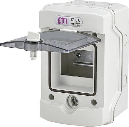 Пластиковый щит ECH 4G 4 модуля внешней установки IP65 ETI, фото 2