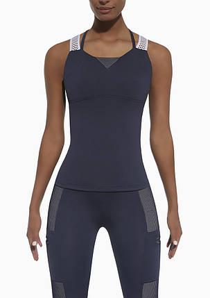 Спортивный женский топ BasBlack Passion-top 50 (original), майка для бега, фитнеса, спортзала, фото 2
