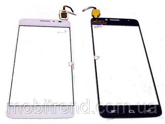 Тачскрин (сенсор) для Alcatel OT6040 Белый