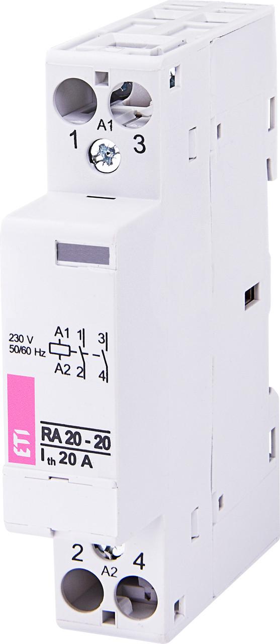 Контактор модульный RA 20-20 230V AC ETI