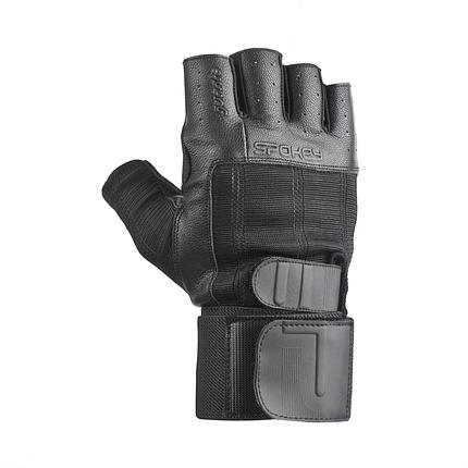 Мужские перчатки для фитнеса Spokey Guanto II 921331 (original), спортивные атлетические тренировочные, фото 2