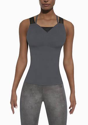 Спортивный женский топ BasBlack Flint-top 50 (original), майка для бега, фитнеса, спортзала, фото 2