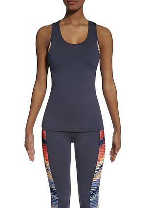 Спортивный женский топ BasBlack Teamtop 70 (original) удлиненный, майка для бега, фитнеса, спортзала, фото 2