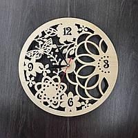 Настенные эко-часы «Весенние мотивы», фото 1