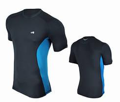 Компрессионная спортивная футболка Rough Radical Fury Duo SS (original), мужской рашгард с коротким рукавом, фото 3