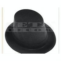 Шляпа черный Цилиндр детский на 2-3 года