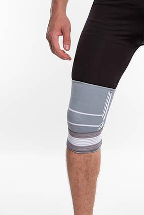 Бандаж спортивный для колена Spokey Segro 830455 (original), наколенник, фиксатор для коленного сустава, фото 2