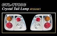 Фары-стоп L/C 100 98-04 LED/Crystal  (4шт)
