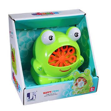 Генератор для выдувания мыльных пузырей лягушка на батарейках