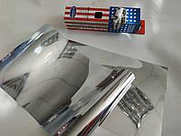 Пленка на лобовое стекло без перехода Autodnepr Silver/Silver 20 х 150 см