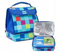 Термосумка для ланча Spokey Lunch Box Blue 921886 ланчбокс, ланч бэг, сумка для обедов