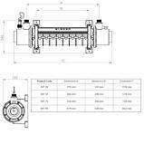 Elecro Теплообменник Elecro SST 36 кВт Titan, фото 5