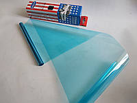 Пленка на лобовое стекло без перехода Autodnepr Blue 20 х 150 см