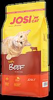JosiCat Tasty Beef Rind с говядиной 18 кг, домашних котов и кошек всех пород и возрастов