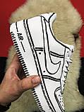 Кроссовки Nike Air Force 1 Cartoon, кроссовки найк аир форс 1 (36,37,38,43 размеры в наличии), фото 3