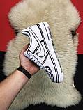 Кроссовки Nike Air Force 1 Cartoon, кроссовки найк аир форс 1 (36,37,38,43 размеры в наличии), фото 2