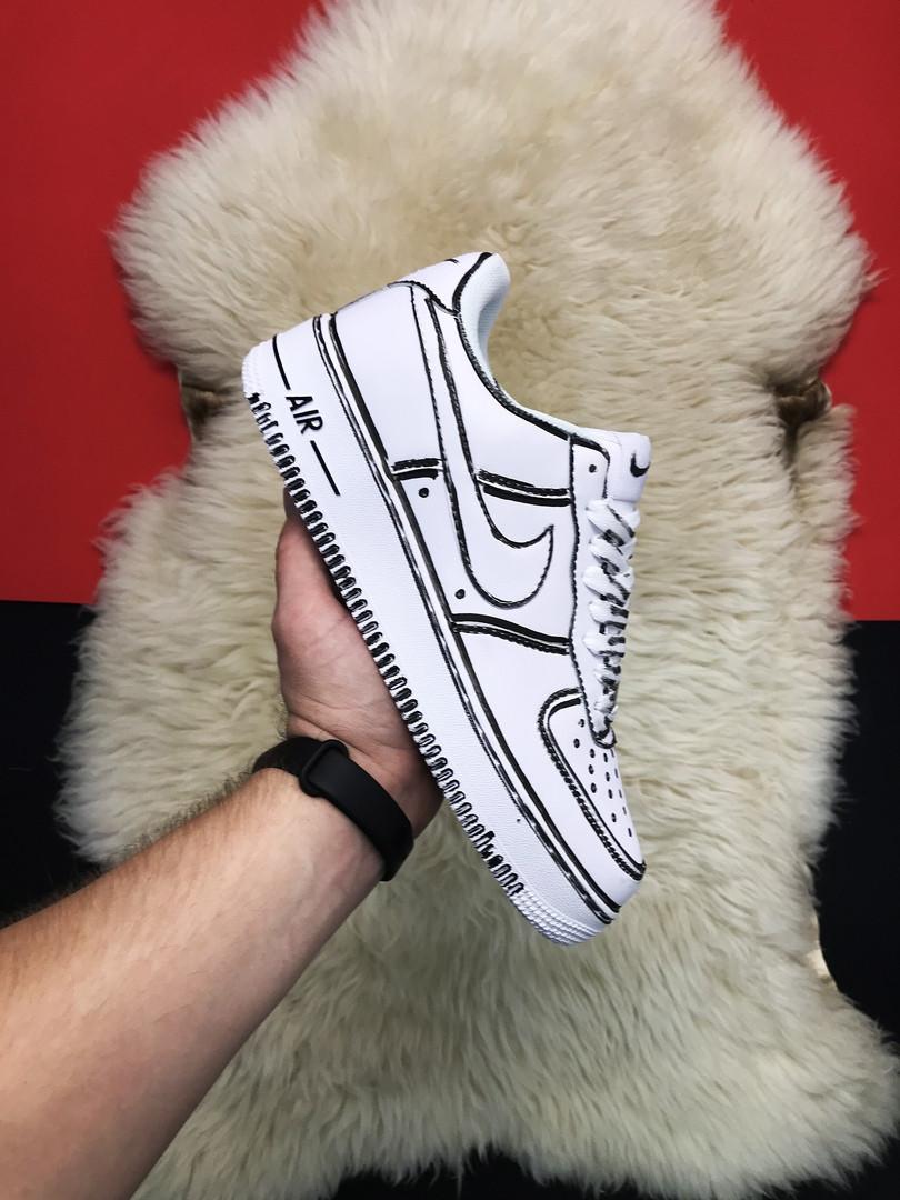 Кроссовки Nike Air Force 1 Cartoon, кроссовки найк аир форс 1 (36,37,38,43 размеры в наличии)