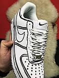 Кроссовки Nike Air Force 1 Cartoon, кроссовки найк аир форс 1 (36,37,38,43 размеры в наличии), фото 5