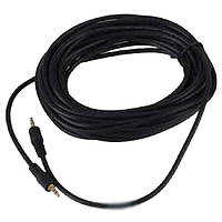 AUX кабель 3.5 mini jack 5 метров Черный