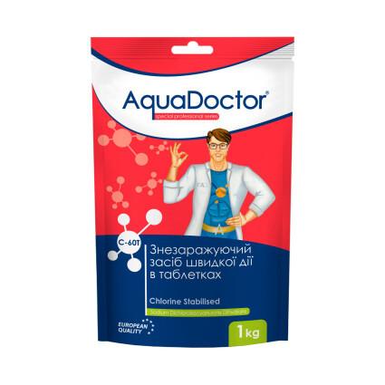 AquaDoctor Хлор AquaDoctor C-60T 1 кг. в таблетках