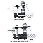 Emaux Стіновий водоспад EMAUX PB 600-150(L) з LED підсвічуванням, фото 6
