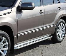 Подножки на Suzuki Grand Vitara (c 2015---) Сузуки Гранд Витара PRS