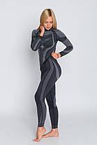 Женские термоштаны с шерстью мериноса HASTER MERINO WOOL зональное бесшовное шерстяное термобелье, фото 2