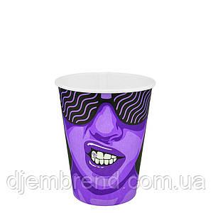 """Стакан бумажный """"#CoffeeParty"""" 250мл. 50шт/уп"""