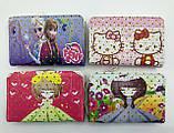 Детские лаковые кошельки Холодное Сердце и Китти для девочек на молнии и с ремешком на руку 16*20 см, фото 2