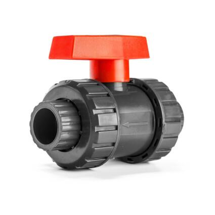 Aquaviva Кран шаровый Aquaviva PN16, диаметр 63 мм.