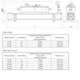 Elecro Электронагреватель Elecro Flow Line 806B Incoloy/Steel 6 кВт 230В, фото 2