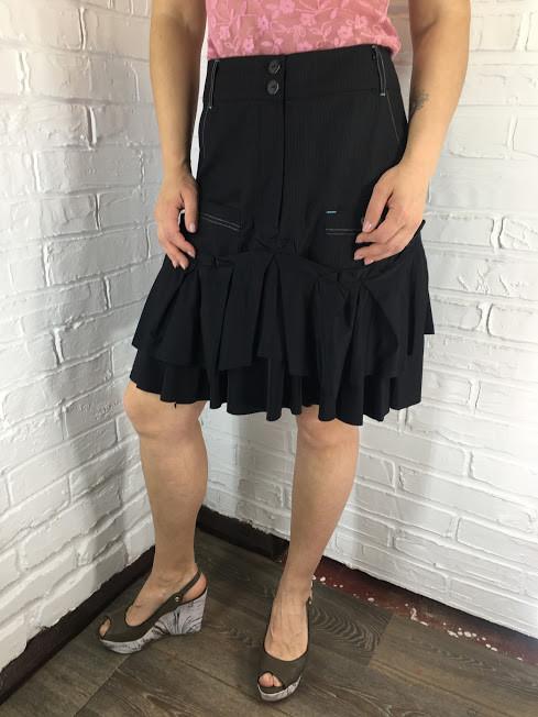 Черная юбка 69634 S