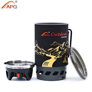 Комбинированная система для приготовления пищи APG 1100ml. газовая горелка.