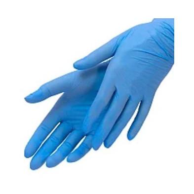 Перчатки Medicare нитриловые смотровые нестерильные неприпудренные голубые р.L
