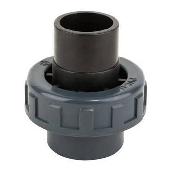 Kripsol Муфта ПВХ Kripsol разборная клей-клей EHS10 50.C, диаметр 50 мм.
