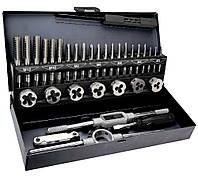Плашки и метчики набор TOPEX 14A425 32 ШТ.