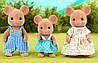 Sylvanian families 5128 Epoch Cім'я мишок  Семья мышек Mouse Family Toy Epoch, фото 5