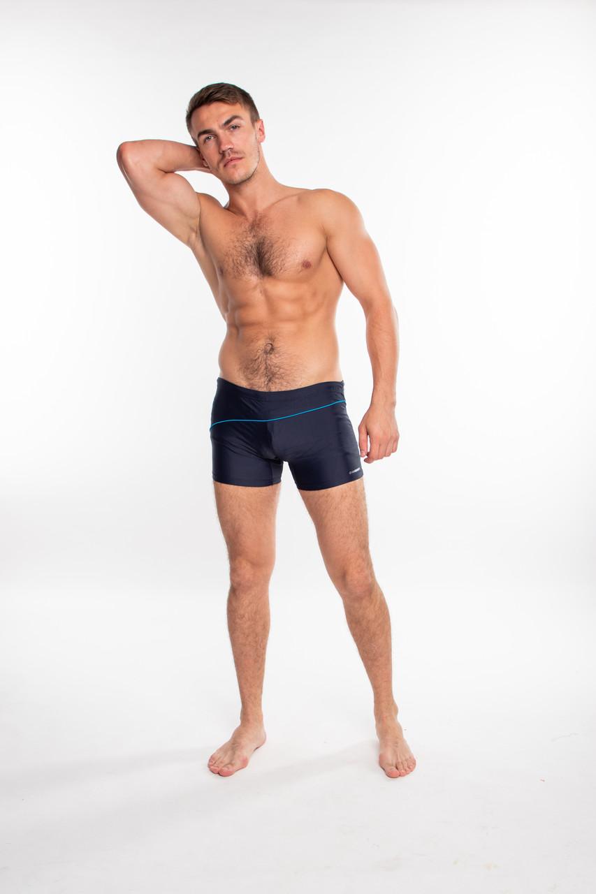 Мужские плавки боксеры Sesto Senso 314 (Польша), купальные плавки для пляжа, для бассейна