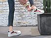 Кроссовки женские Superme Белые с черным, фото 5