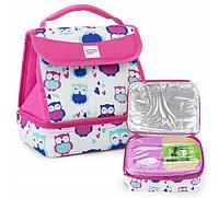 Термосумка для ланча Spokey Lunch Box Pink 921885, ланчбокс, ланч бэг, сумка для обедов