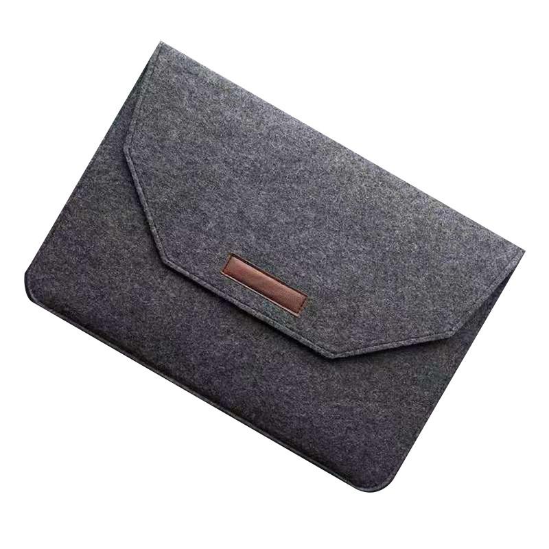Чехол-конверт из фетра для Макбук Macbook Air/Pro 13,3'' - темно-серый