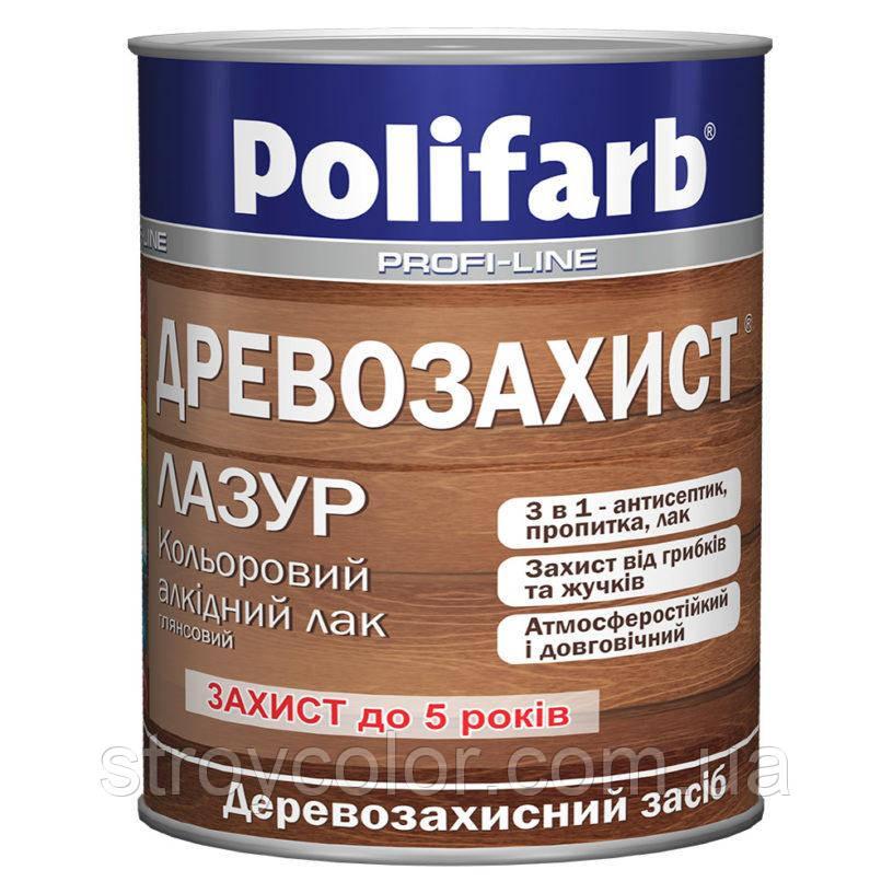 Древозахист лазур Палисандр 2,2кг. Polifarb (Лак, Полифарб)