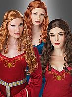 Женский средневековый парик, фото 1