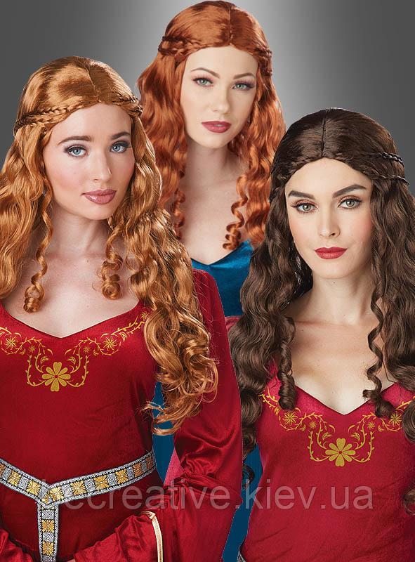 Женский средневековый парик